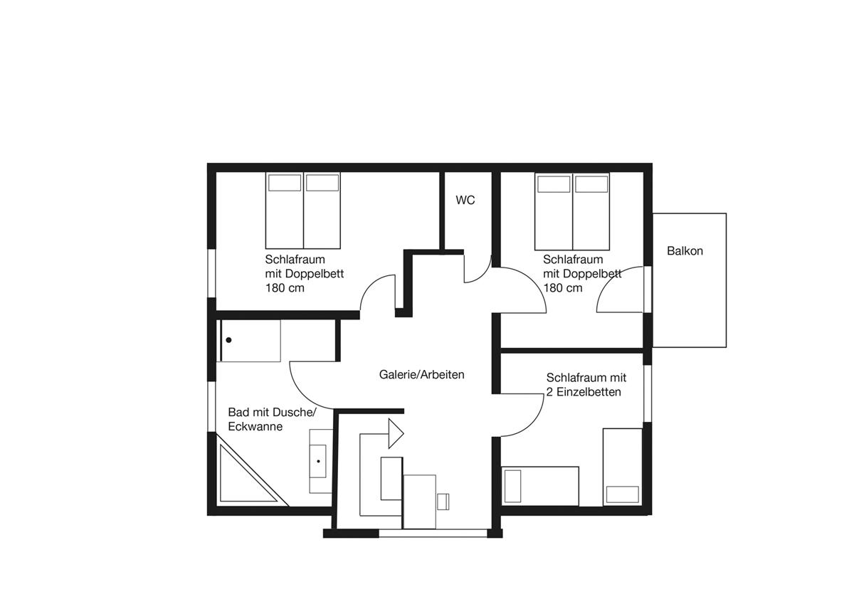 Nordisches Design im Architektenhaus Kapitänshaus Born Darß exklusiv Haus Meerblau